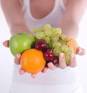 Frutas oferecidas