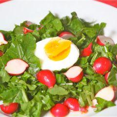 Ovos com salada 1 baixa